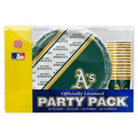 MLB Oakland Athletics Party Pack