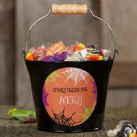 Sweets & Treats Halloween Mini Metal Bucket