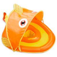 Aqua Leisure® Grow-with-Me SunShade Gold-E-Fish Baby Float