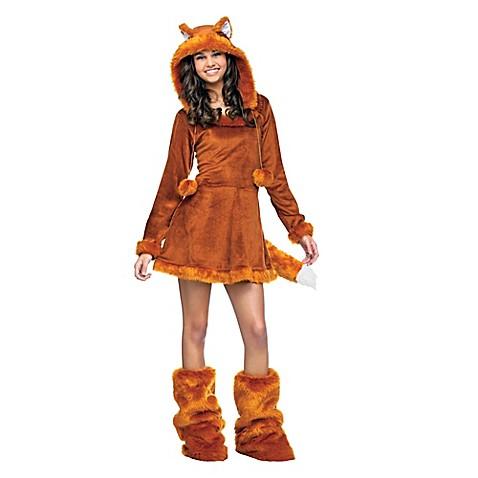 sweet fox size 0 9 teen halloween costume