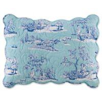 Hampstead Toile Standard Pillow Sham