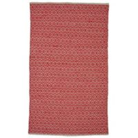 Feizy Norrington 4-Foot x 6-Foot Area Rug in Ruby