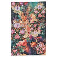Feizy Ashlyn Floral 5-Foot 5-Inch x 8-Foot 6-Inch Multicolor Area Rug