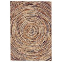 Feizy Zenith Circles 8-Foot x 11-Foot Multicolor Area Rug