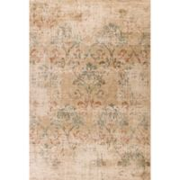 KAS Heritage Damask 3-Foot 3-Inch x 4-Foot 11-Inch Accent Rug in Champagne