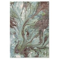 KAS Illusions Watercolors 5-Foot 3-Inch x 7-Foot 7-Inch Area Rug in Seafoam