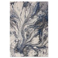 KAS Illusions Watercolors 5-Foot 3-Inch x 7-Foot 7-Inch Area Rug in Grey