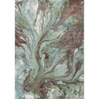 KAS Illusions Watercolors 7-Foot 10-Inch x 10-Foot 10-Inch Area Rug in Seafoam