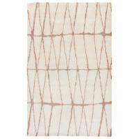 Jaipur Botticino 5-Foot x 8-Foot Area Rug in Cream