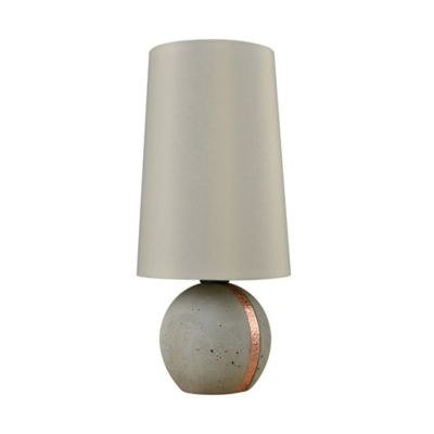 Jutland Table Lamp In Concrete/Copper