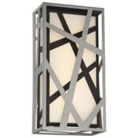 Minka Kovacs® Duvera Outdoor LED Wall Sconce in Silver