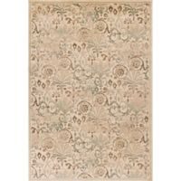KAS Heritage Florence 5-Foot 3-Inch x 7-Foot 8-Inch Area Rug in Ivory