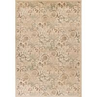 KAS Heritage Florence 7-Foot 7-Inch x 10-Foot 10-Inch Area Rug in Ivory