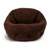 Best Friends by Sheri Deep Dish Sherpa Pet Bed in Baby Brown