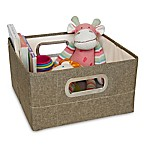 JJ Cole® 6.5-Inch Storage Box in Greige