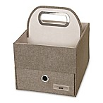 JJ Cole® Diaper Caddy in Greige