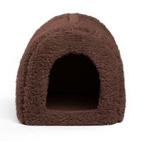 Best Friends by Sheri Small Igloo Pet Bed in Baby Brown