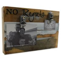 Sweet Bird & Co. No Regrets 8-Inch x 12-Inch Reclaimed Wood Clip Frame