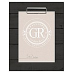 Grasslands Road® Shiplap 5-Inch x 7-Inch Frame in Black
