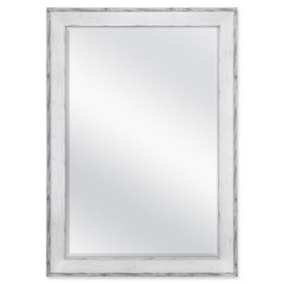 Buy mirror large wall from bed bath beyond ashley large wall mirror in white gumiabroncs Image collections