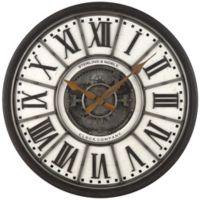 Sterling & Noble™ 29-Inch Industrial Gear Wall Clock