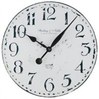 Sterling & Noble™ 15.5-Inch Metal Farmhouse Wall Clock