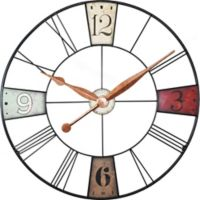 FirsTime® Vibrant Oversized 36-Inch Plaques Wall Clock