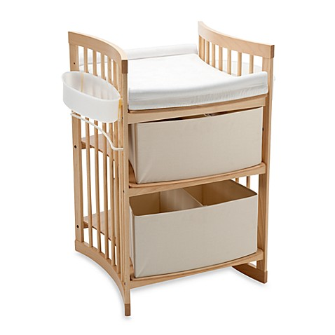 stokke care changing table in natural bed bath beyond. Black Bedroom Furniture Sets. Home Design Ideas