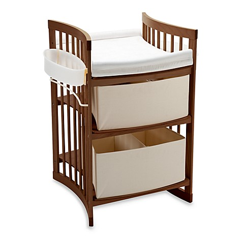 Stokke 174 Care Changing Table In Walnut Buybuy Baby