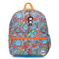 BabyMel™ Zip & Zoe Junior Robots Backpack in Blue