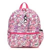 BabyMel™ Zip & Zoe Junior Robots Backpack in Pink