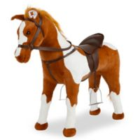 """Rockin' Rider """"Coffee"""" Stable Horse in Brown"""