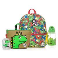BabyMel™ Zip and Zoe Bright Dino Multi/Dylan Bundle Junior Backpack