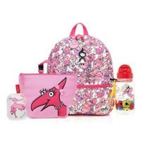 BabyMel™ Zip and Zoe Robots Pink/Daisy Junior Backpack