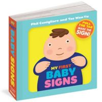 """My First Baby Signs"" Book by Phil Conigliaro and Tae Won Yu"
