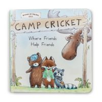 "Bunnies By The Bay™ ""Camp Cricket Friends Help Friends"" Book"