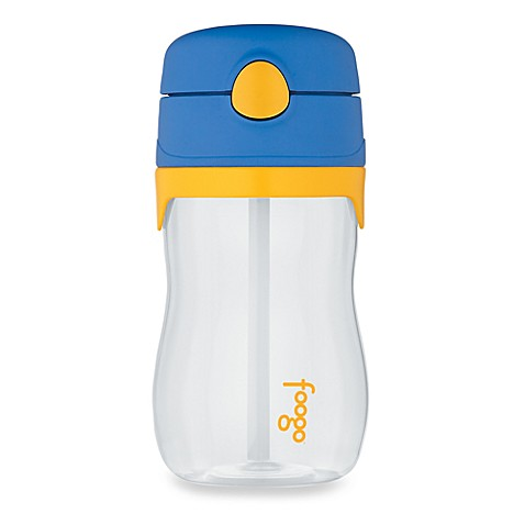 Thermos Foogo® Phases™ Tritan 11-Ounce Straw Bottle in Blue/Yellow