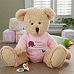 New Arrival Baby Teddy Bear in Pink