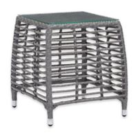 Zuo® Trek Outdoor Side Table in Grey
