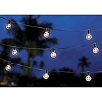 20-Bulb Solar Café String Lights