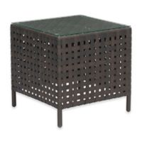 Zuo® Pinery Outdoor Side Table in Brown