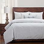 SIScovers® Modern Farmhouse Homestead Queen Duvet Cover Set in Blue/Off White