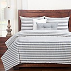SISovers® Farmhouse King Duvet Cover Set in Grey/White