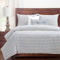SISovers® Farmhouse California King Duvet Cover Set in Grey/White