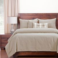 Siscovers® Modern Farmhouse King Duvet Cover Set in Tan
