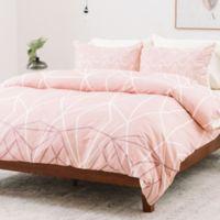 Deny Designs Mareike Boehmer King Duvet Cover in Pink