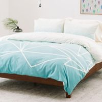 Deny Designs Mareike Boehmer Twin Duvet Cover in Blue