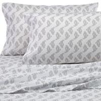 Peri Home Paisley Standard Pillowcase in Grey
