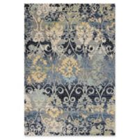 KAS Reina Damask 3-Foot 3-Inch x 4-Foot 11-Inch Accent Rug in Grey