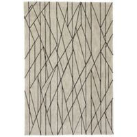 Jaipur Stela 2-Foot x 3-Foot Accent Rug in Taupe/Black